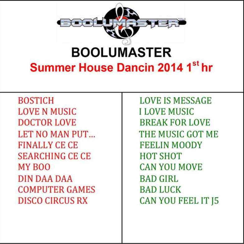 Summer Dance Chicago House Music 2nd Hour Boolumaster