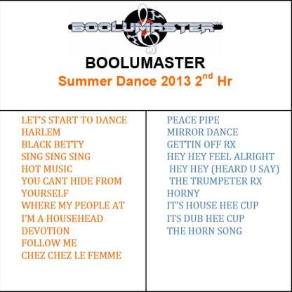 Summer dance 2nd playlist