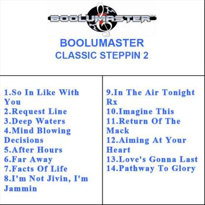 classic Steppin 2 playlist