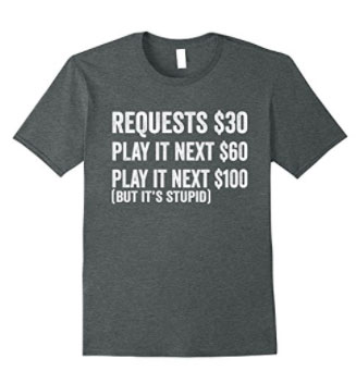 Dark Heather No Request T shirt