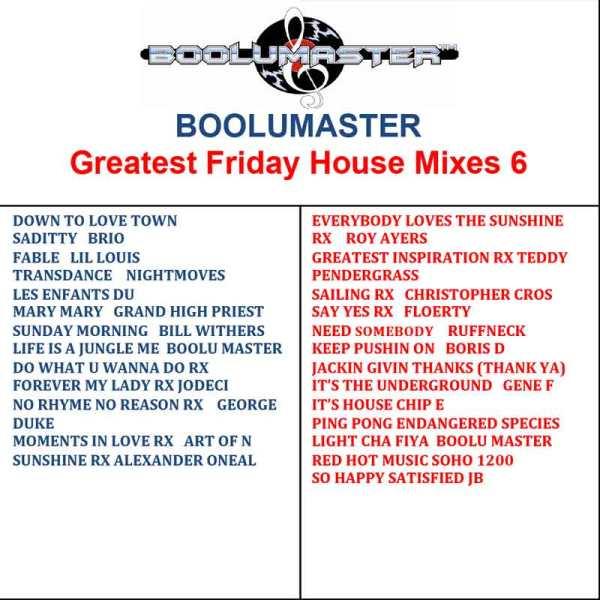 Greatest Friday 6 playlist