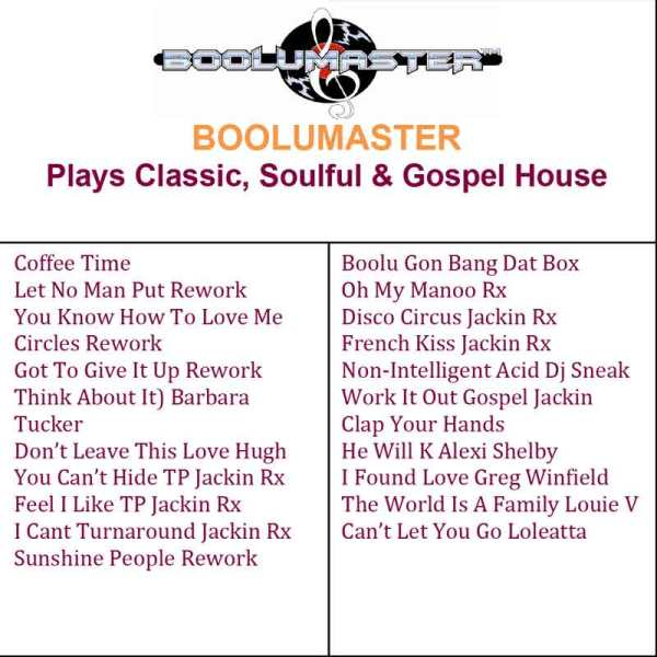 classic Soulful Gospel House image