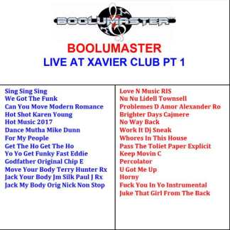 Live Xavier Part 1 playlist