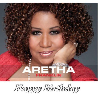 Aretha Franklin birthday image