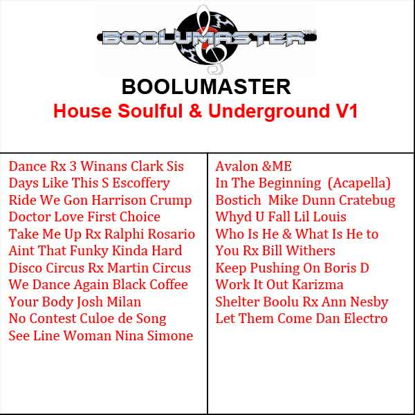 House Music Soulful and Underground Volume 1