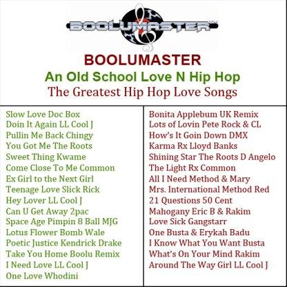 Greatest Hip Hop Love Song playlist