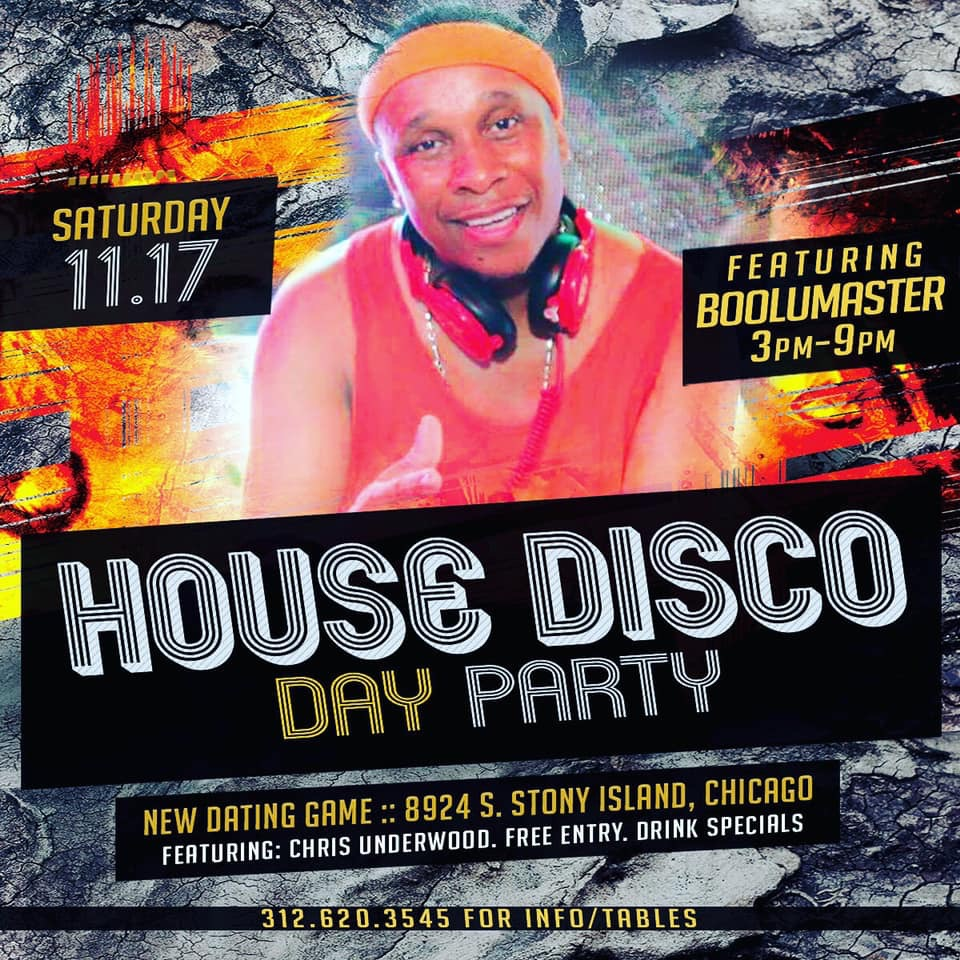 Dating Game House & Disco flyer