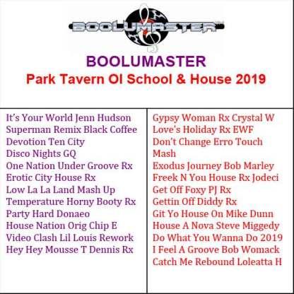 Park Tavern artwork playlist