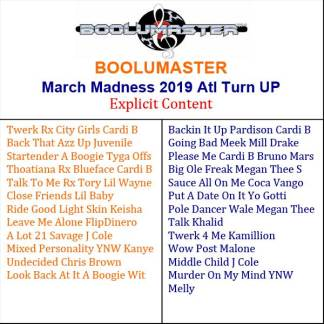March 2019 Turn Up Playlist