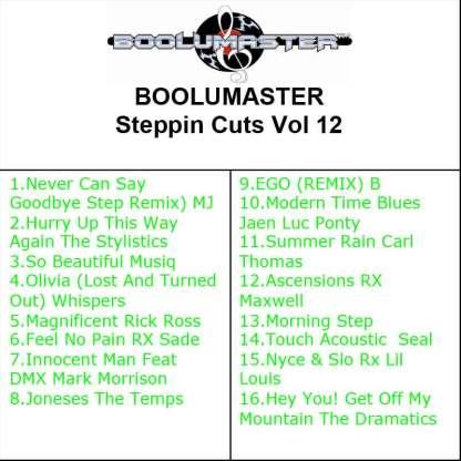 Steppin Cuts 12 playlist