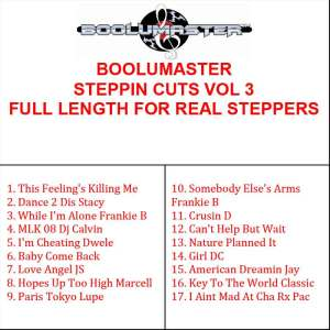 Steppin Cuts 3 playlist