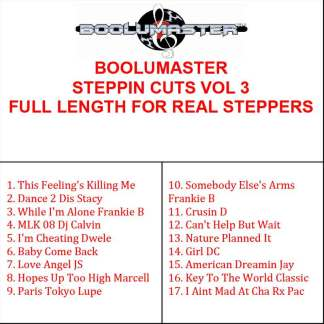 Steppin Cuts 3 playlist