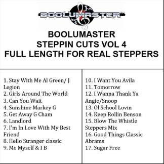 Steppin Cuts 4 playlist