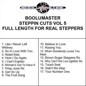 Steppin Cuts 5 Playlist