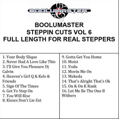 Steppin Cuts 6 playlist