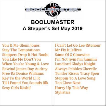 Stepper Set May playlist