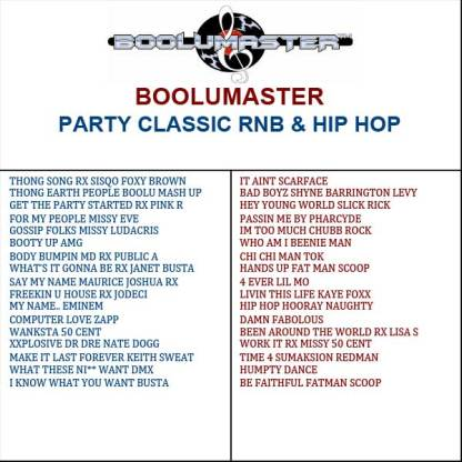 party classic playlist