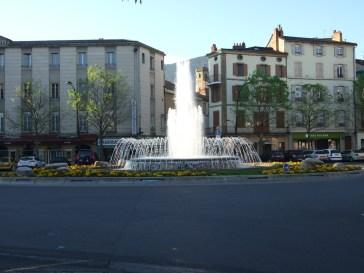 Millau Fountain