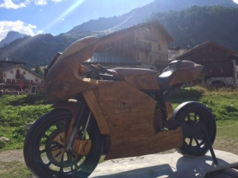 26 Val DIsere Wooden Bike