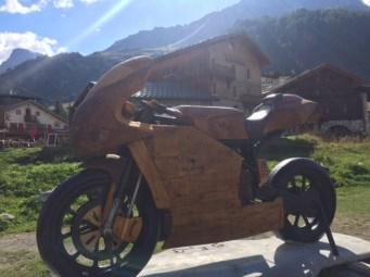 26 Val DIsere Wooden Bike