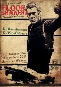 Floorshakers in Weimar am 18.6.11