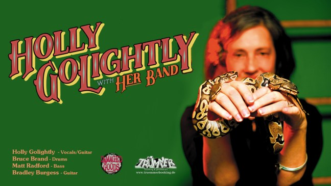 HOLLY GOLIGHTLY & BAND am 29.11.19 im Museumskeller Erfurt