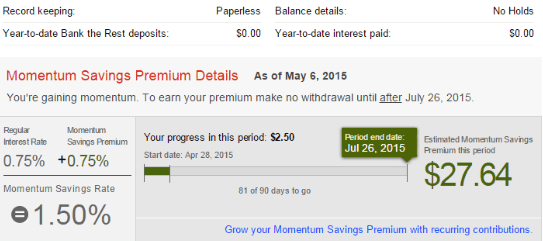 Scotia Momentum Savings Account
