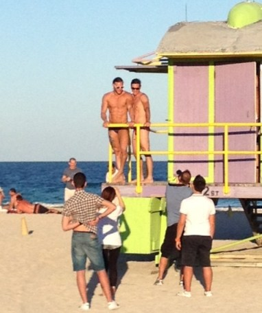 Visit to South Beach Lifeguards