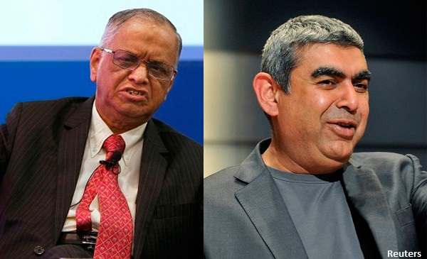 Murthy Vs. Sikka Row : Infosys Board Addresses The Media