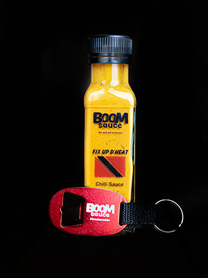 100ml Bottle of Boom with Keyring