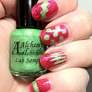 """Julep - Monica with Alchemy Lacquers -  """"Lab Sample"""" Prototype"""