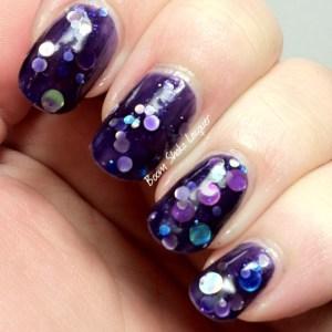 Jindie Nails - Purple Universary (Updated Swatch)