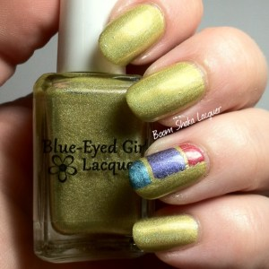 Blue Eyed Girl Lacquers - Intersecting Lines in the Sand