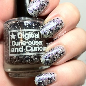 Digital Nails Curie-ouser and Curiouser