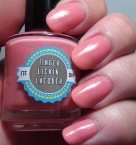 Finger Lickin' Lacquer - Peachy Keen