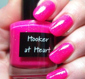 Crows Toes - Hooker at Heart (with topcoat)