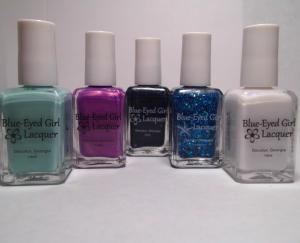 Blue Eyed Girl Lacquers - Fan Favorites and a Siren