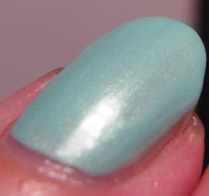 Blue Eyed Girl Lacquer - Monster's Tea at Tiffany's (Macro)