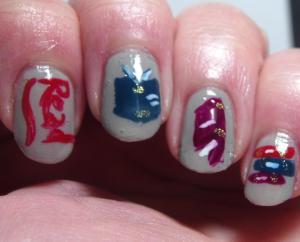 Crumpet's Nail Tarts - 40 Great Nail Art Ideas