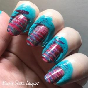Valentine's Nail Art Progress