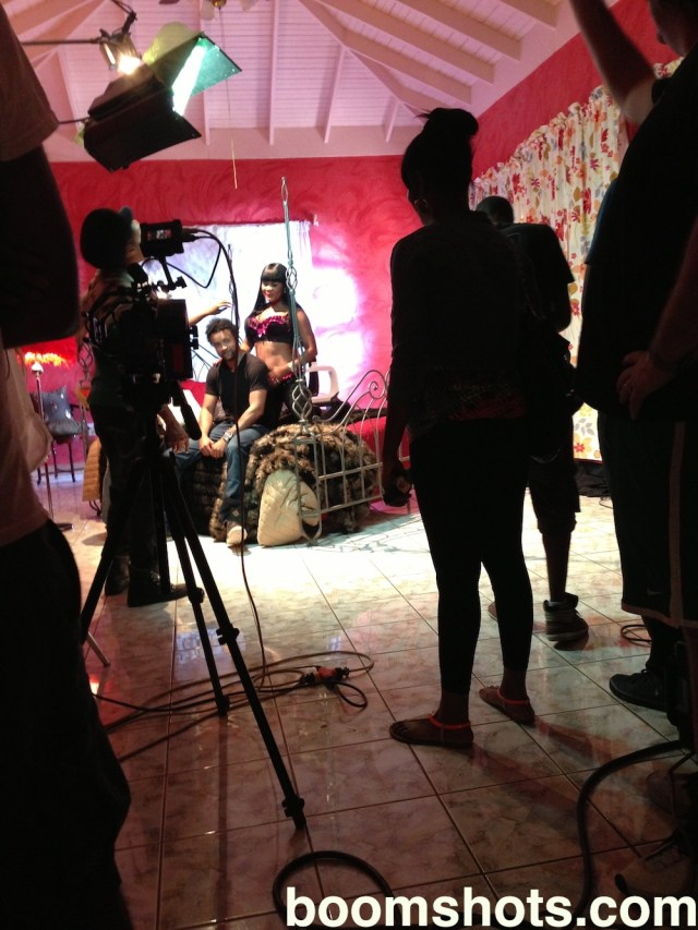 "Lady Saw's ""Heels On"" Video Shoot"