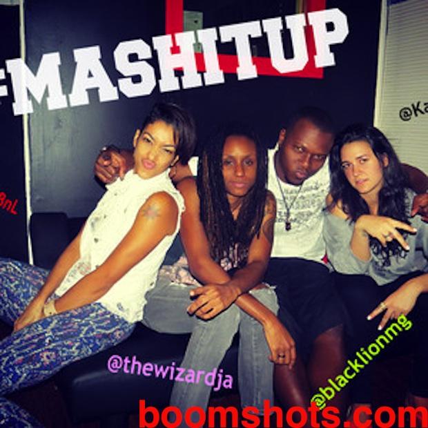 "HEAR THIS: Black Lion ft Kat Dahlia & Nyanda ""Mash It Up"""