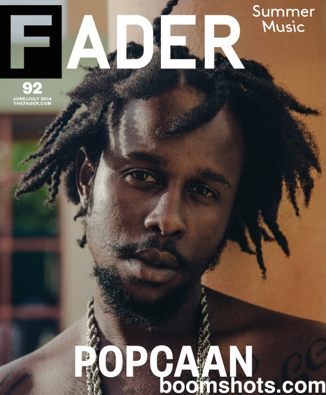 Popcaan Covers The Fader