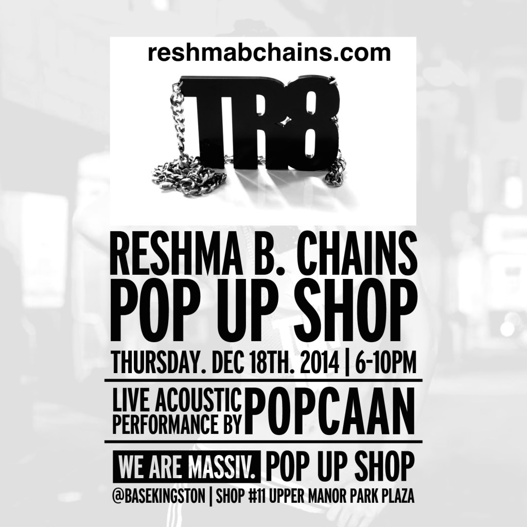 MASSIV PopUpShop KGN JA Dec 18 2014 ReshmaB Chains URL Top
