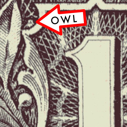 OWL 1 dOllar Bill