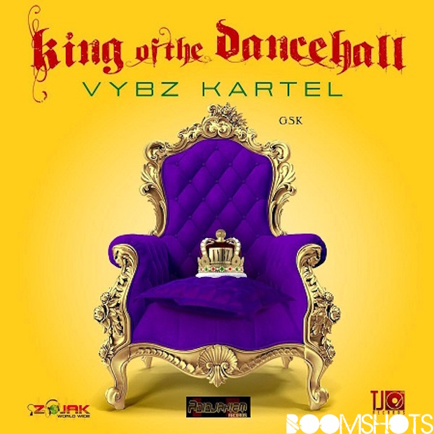 "Vybz Kartel Tops the Charts & Claims His Crown on ""King of the Dancehall"""