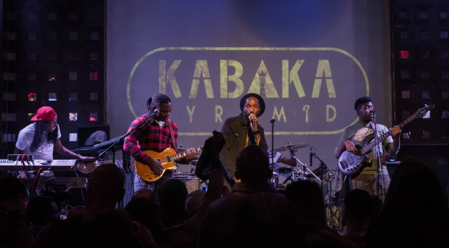Kakaba Pyramid Torched the SOB's Stage with Blazing Lyrics