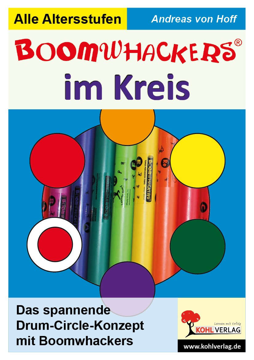 Boomwhackers im Kreis - Cover