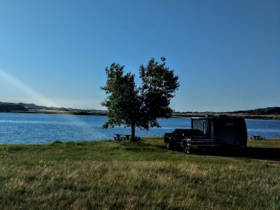 camping within 200 feet of a body of water
