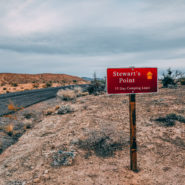 stewart's point lake mead nevada camping